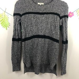 Madewell Patternstorm Cableknit Sweater